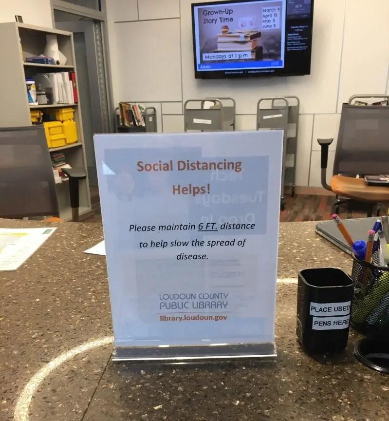 Fairfax County Libraries Shut Down In Response To Coronavirus ...