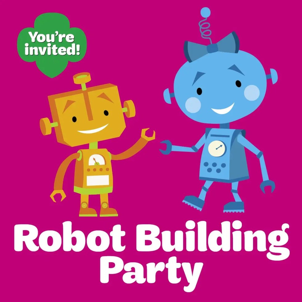 Girl Scouts of Eastern PA (Bristol) Robot Building Party