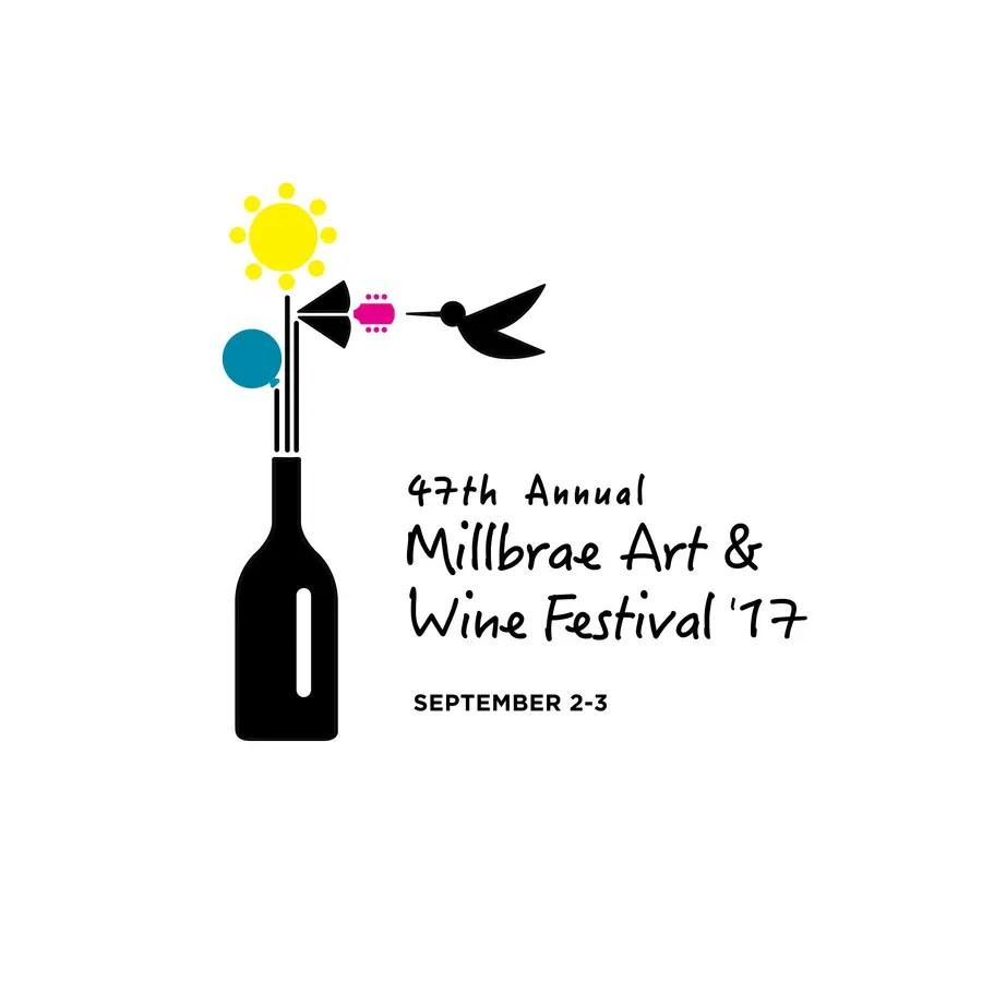Logo Unveiled for the 2017 Millbrae Art & Wine Festival