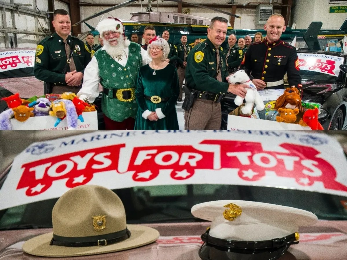 Nh State Police Marines Begin Toys For Tots Drives