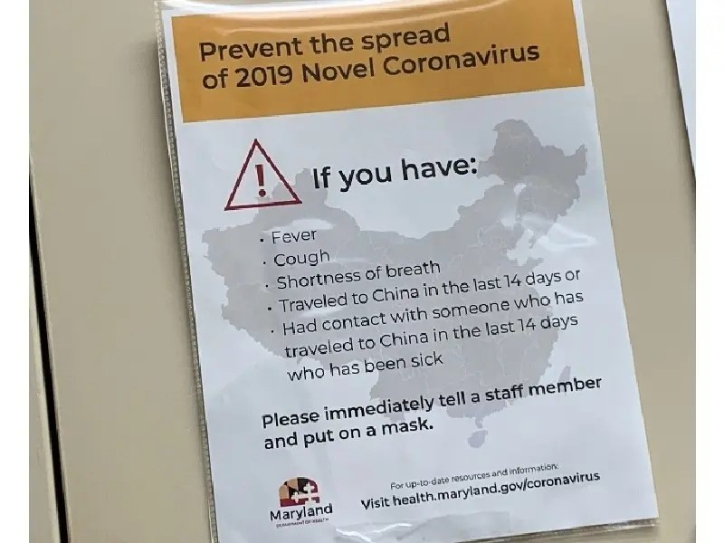 Confirmed Coronavirus Cases Double In Maryland | Baltimore, MD Patch