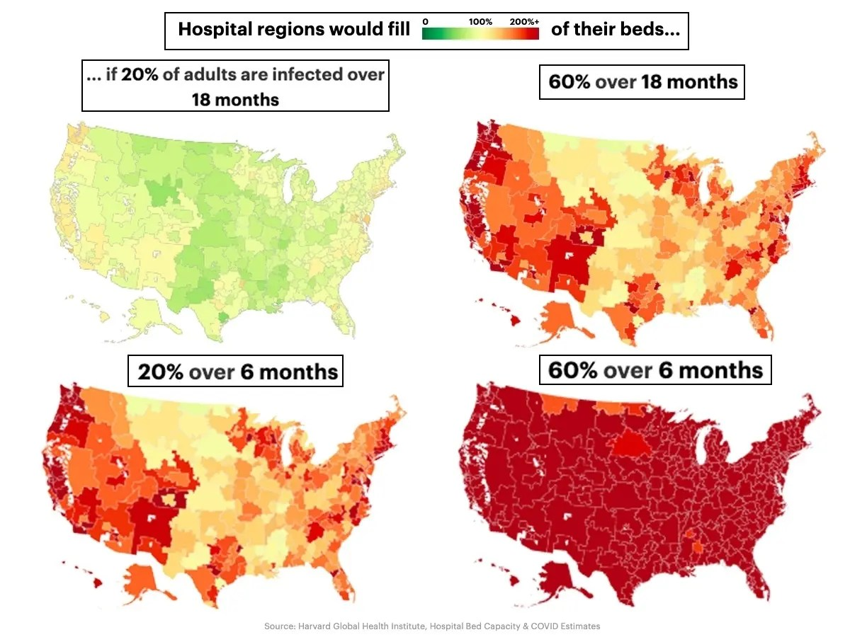 Coronavirus: Tucson Has Acute Hospital Bed Shortage, Report Says ...