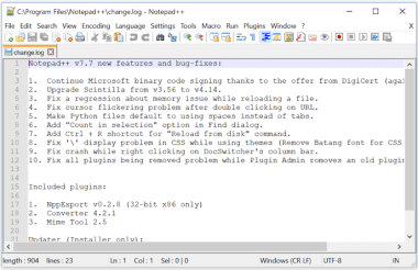 Notepad++7.8.5 Portable Crack With Keys {Mac/Win} 2020