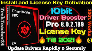 Driver Booster 8 Key With Crackeado 2020/2021