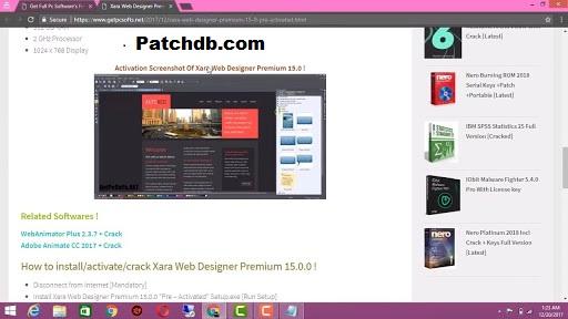Xara Web Designer Premium Crack 17.0.0.58775 Free Download