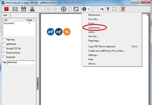 pdfFactory Pro screenshot