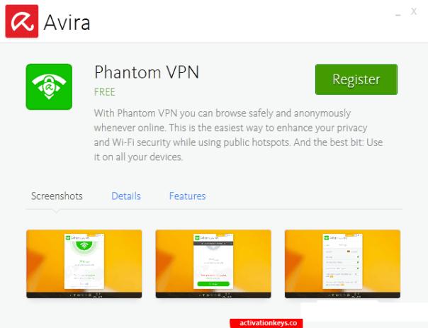 Avira Phantom VPN Pro 2.32.2.34115 With Crack & [Latest] 2021