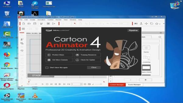 Cartoon Animator Crack 4.21.1808.1 + Pipeline License Key Latest 2021