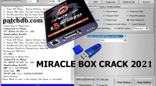 Miracle Box Crack 3.07 With Activation Key Download