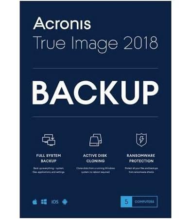 Acronis True Image Data Protection