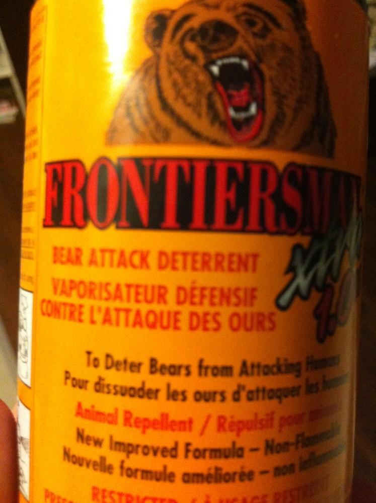 So, you want to buy bear spray? (5/6)