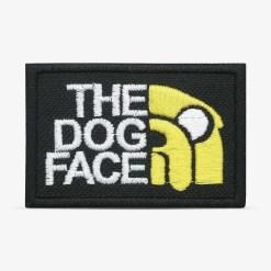 patch bordado adesivo termocolante customização dog face hora aventura
