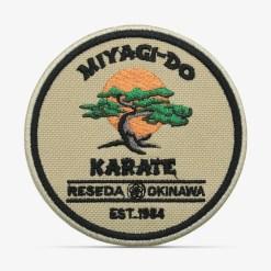 patch bordado adesivo termocolante customização Miyagi Karate Kid