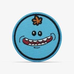 patch bordado adesivo termocolante customização Rick morty meeseeks sorrindo