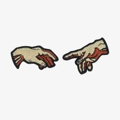 patch adesivo termocolante mãos para customizado