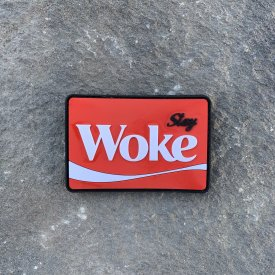 STAY WOKE COKE PVC Morale Patch