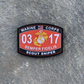 0317 Scout Sniper PVC MOS Patch