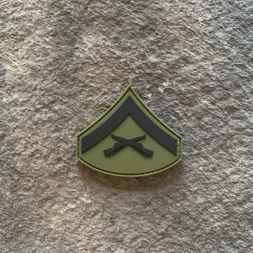 Subdued E-3 Lance Corporal