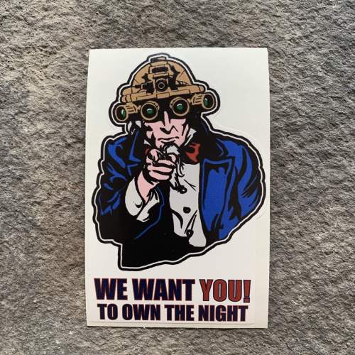 NEW!   We want YOU!  To own the night.