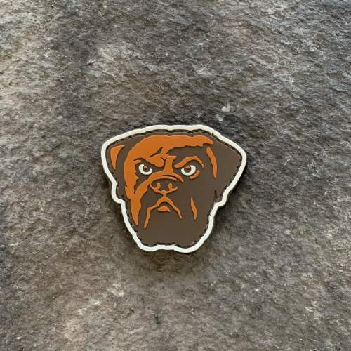 Browns Dawg Face