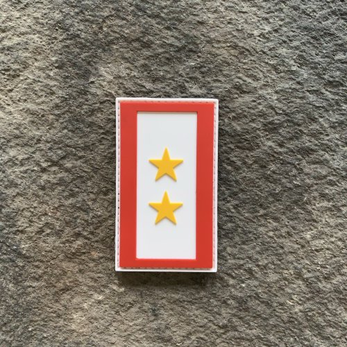 Ryan Weaver Heroes Collection:  Gold Star Flag Patches by PatchOps