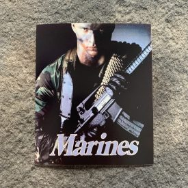 Marine Recruiting Poster Vinyl Decal
