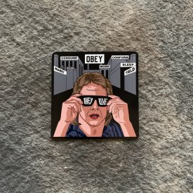 They Live Vinyl Decal