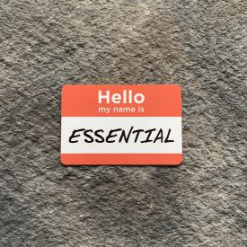 My name is ESSENTIAL  Vinyl Decal