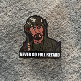 Tropic Thunder: Never go full retard Vinyl Decals