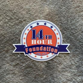 14th Hour Foundation Vinyl Decal