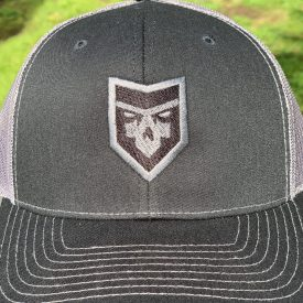 PatchOps Trucker Snap Back-  Black/Gray