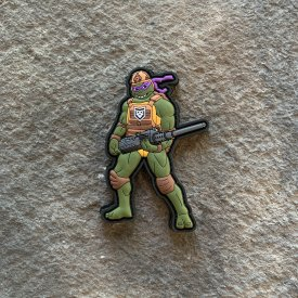 TMNT-  Donatello PVC Patch