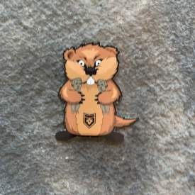 Caddy Shack Gopher Vinyl Decal
