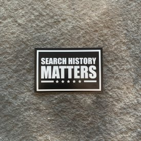 Search History Matters Vinyl Decals