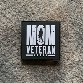 Mom Veteran PVC Patch
