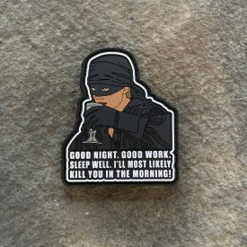 Dead Pirate Roberts Good Night PVC Patch