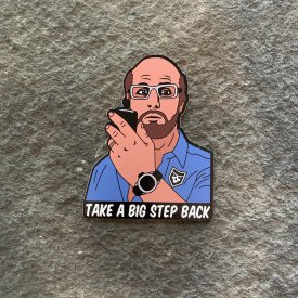 Tropic Thunder:  Les Grossman Vinyl Decal