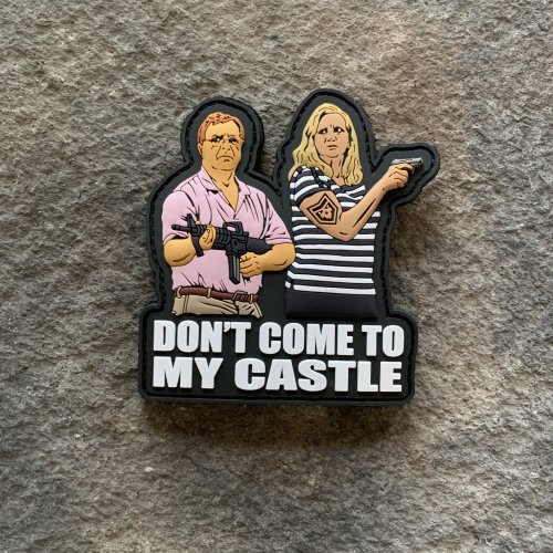 Don't Come to My Castle PVC Patch