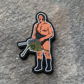 Heavy Gun Andre the Giant PVC Patch