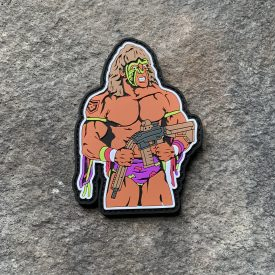 Ultimate Warrior PVC Patch