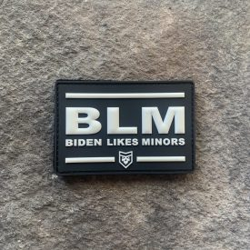 BLM Biden Likes Minors PVC Patch