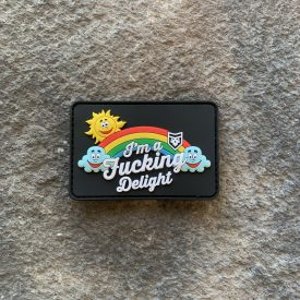 NEW SIZE! I'm a Fucking Delight Hat PVC Patch
