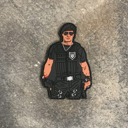 The Expendables: Barney Ross PVC Patch