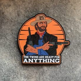 Josey Wales The Twins are Ready PVC Patch
