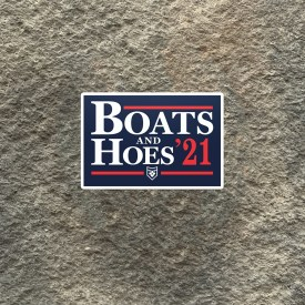 Boats and Hoes '21 Vinyl Decal