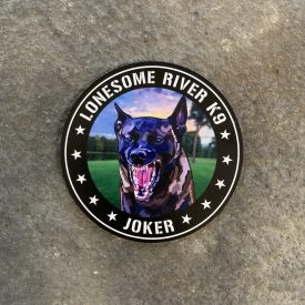 Lonesome River K9 Joker Vinyl Decal
