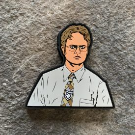 The Office: Dwight Schurte PVC patch