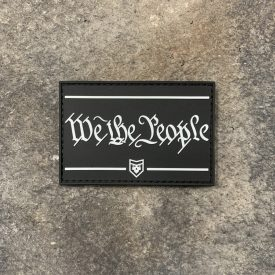 We the People Glow in the Dark PVC Patch