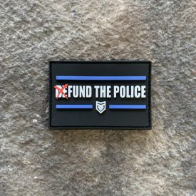 Glow in the Dark-  Fund The Police PVC Patch