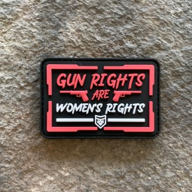 Gun Rights are Women's Rights PVC Patch